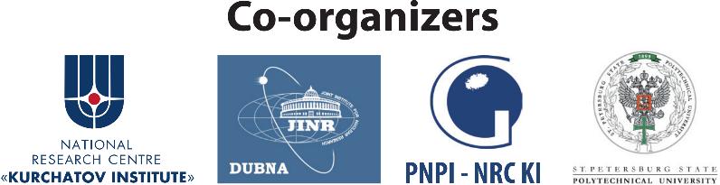PNPI - NRC KI, NRCKI, JINR, SPbSPU
